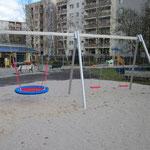 Berlin, Pionierstraße 195, Spielplatz, Baujahr 2014
