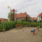Bautzen, Flinzstraße, Spielplatz, Baujahr 2015