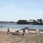 Peenemünde, Hauphafen, Spielplatz am Kai, Baujahr 2014