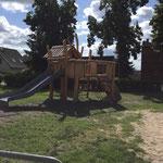 Mittenwalde OT Ragow, Dorfstraße, Spielplatz, Baujahr 2015