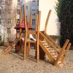 Berlin, Wühlischstraße, Spielplatz, Baujahr 2014