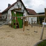Schleid, Spielplatz am Ulstertal-Radweg. Einweihung 13.09.2015, Baujahr 2015