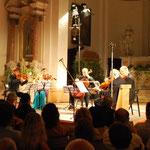 string sextets with Manrico Padovani, Natasha Korsakova, Walter Vestidello, Luca Franzetti and Bruno Giuranna