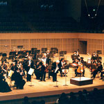 Mozart's Sinfonia Concertante together with Zakhar Bron and the Kyoto Symphony Orchestra. Kyoto, 2003