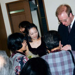 signing session after a concert with Tomomi Hoshiko in Japan