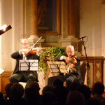 playing string sextets with the great Bruno Giuranna in Asolo, September, 2011