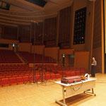 recording Bach's suites 1-3 for viola solo, Tokyo April 2016
