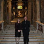with Dr. Sabine Haag,  Director General of the Kunsthistorisches Museum Vienna