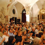the audience in Asolo