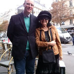 coffee time with the legendary Liana Isakadze in Paris