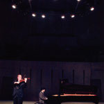 recording Brahms' viola sonatas with Akira Wakabayashi, winner of Busoni and Queen Elizabeth piano competitions. Japan, 2002