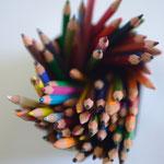 crayons emmêlés (c) Michel MATTEI