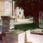 La fontaine vers 1980