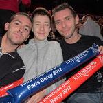 """Nos supporters Franck, Maxim et Olivier avaient la """"Frite"""" !!!"""