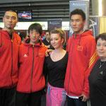 Equipe de Chine Masculine Kata, et les Filles, Laure et Marjorie !