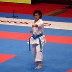 Rika Usami, représentente du Japon devient Championne du Monde Kata individuel féminin !
