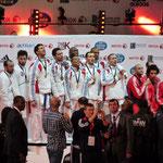 Equipe de France Masculine Kumité, Championne du Monde !!!