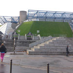 Le POPB (Palais Omnisports de Paris Bercy), de bon matin !