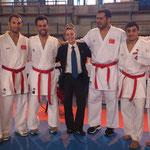 L'équipe de Turquie, en charmante compagnie !!!