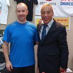 José et Senseï Hidetoshi Nakahashi au stand d'une celèbre marque !