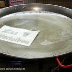 Paella Pfanne ca 1 m Durchmesser