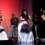 Der Tribal-Fusion-Kurs aus dem Studio 52. Foto: Aela Badiana Productions