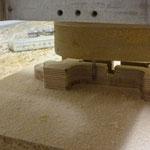 Bauteilkombination bei der endbearbeitung