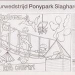 1995 04 06 PONYPARK SLAGHAREN Kleuractie Kids Country.