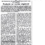 Officiële overdracht van Henk Bemboom's Tricotagefabriek Labora aan Henny van Rooij, 14 oktober 1957.
