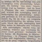 1950 09 03 Vorming van Plaatselijk Belang Slagharen