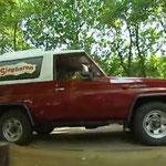2006 De voormalige bedrijfsauto van Cowboy Hein Nijkamp, Ponypark City.