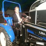 2013 Traktor en Paardentrailer.