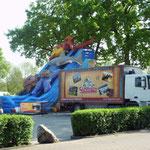 1991 Veewagen/ Transportwagen Attractiepark Slagharen DAF 95, Kenteken: VN-90-JG (Met huisstijl Slagharen Themepark en Resort)