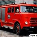 1975 Dit voertuig, DAF met kenteken AB-44-47, is destijds overgekocht van het brandweerkorps Sliedrecht en toegevoegd aan het wagenpark van Ponypark Slagharen.
