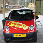 2012 Vakantie- en Attractiepark Slagharen, Promotieauto met het kenteken 13-LH-GT.