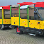De trein werd in 1994 gebouwd door de vermaarde firma Tschu Tschu in het Duitse Regensburg, tegenwoordig CityTrain genaamd. Vanwege de splitsing tussen PonyparkCity en Attractie- en Vakantiepark Slagharen werd de trein begin 2017 online geveild.