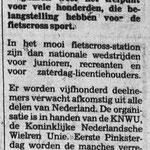 16-05-1986 Fietscrossers in Ponypark Slagharen.