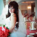 свадебные прически +на нарощенные волосы