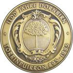 """Medaille """"1100 Jahre Dornbirn"""""""