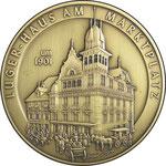 """Medaille """"Luger-Haus in Dornbirn"""""""