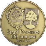 """Medaille """"100 Jahre Stadt Dornbirn"""""""