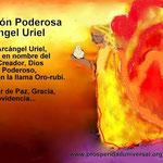 LA PAZ TRAE BENDICIÓN-ARCÁNGEL  URIEL - PROSPERIDAD UNIVERSAL- www.prosperidaduniversal.org