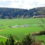 Blick auf das Anglerheim - Lüttchen Börnecke