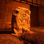 Gedenkstein, der anlässlich des 1000jährigen Jubiläums aufgestellt wurde