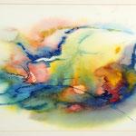 Daniela Neufeld - Abflug 30 x 50 cm