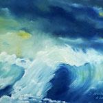 Daniela Neufeld - Die Welle                                                                          60 x 80 cm