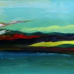 Daniela Neufeld - Aufbruch 45 x 100 cm