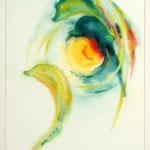 Daniela Neufeld - Delphinreigen 50 x 30 cm