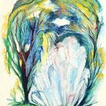 Daniela Neufeld - Bergkristall 50 x 30 cm
