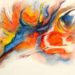 Daniela Neufeld - Wurzeln 30 x 50 cm